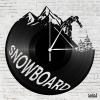 Snowboard - Bakelit óra